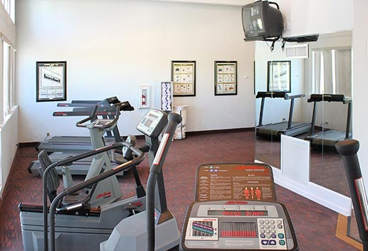 Fitness Gym at Magnuson Hotel Marina Cove, Florida